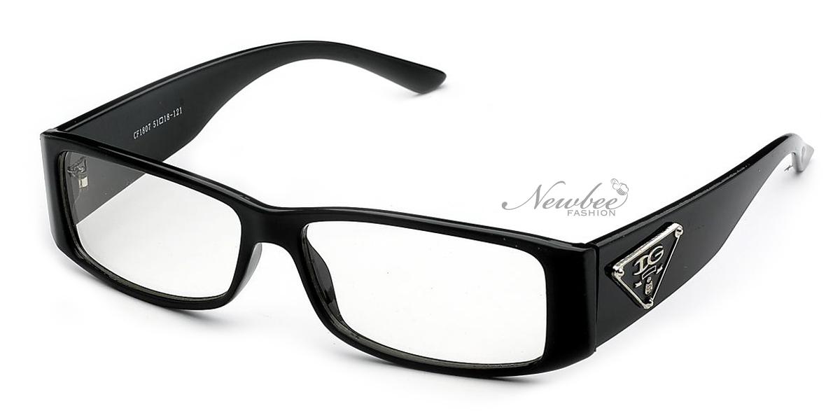 Black Frame Glasses Without Prescription : IG Clear Lens Glasses Rectangular Frame Non Prescription ...