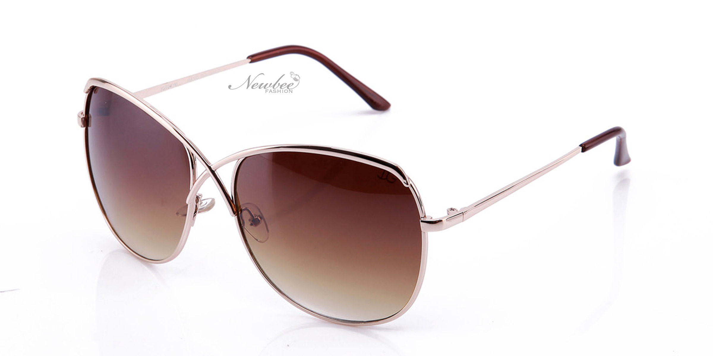 Women Classy Rounded Sunglasses Fashionable Unique Design