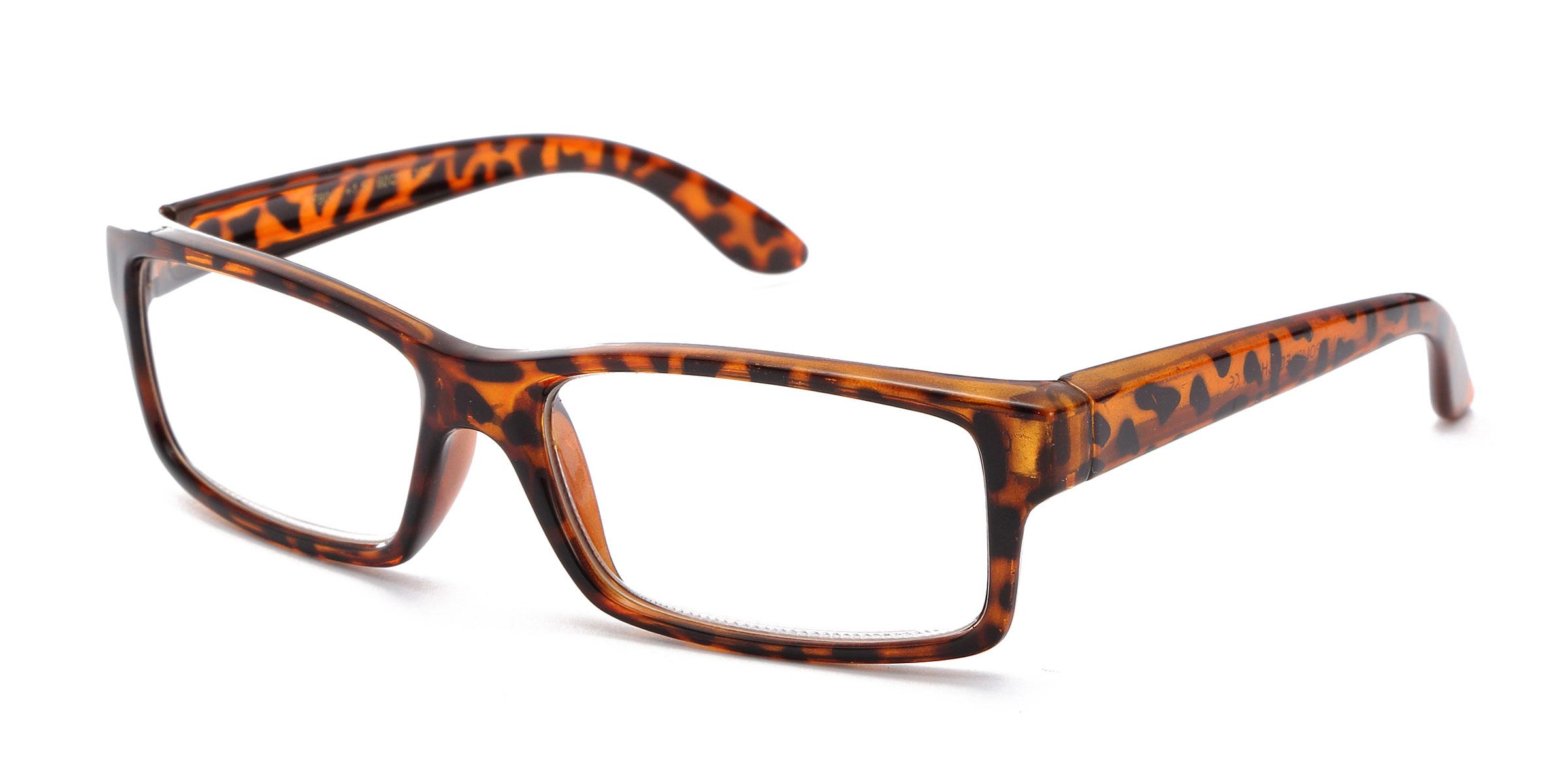 Glasses Frame Structure : 2 Pack Tortoise Frame Bold Frame Reading Prescription ...